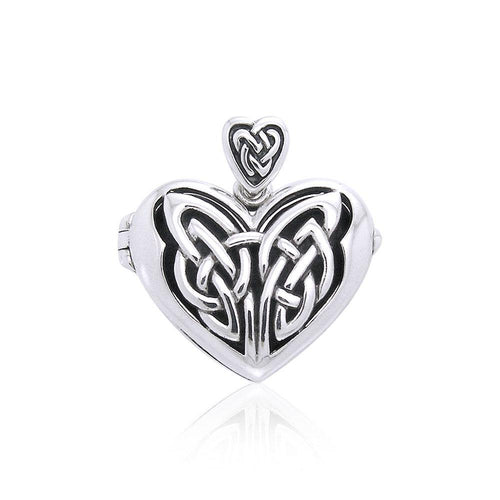 Celtic Eternal Heart Aroma Locket Pendant TPD3546