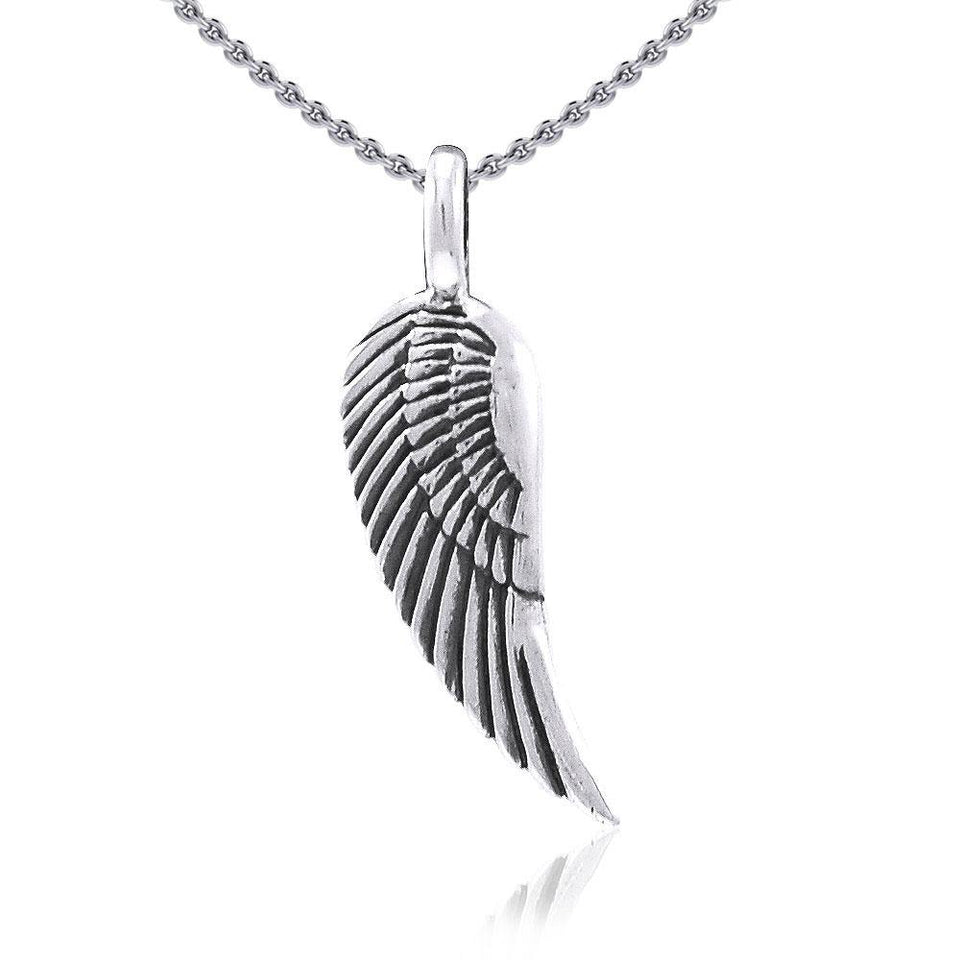 Angel Wing Silver Pendant TPD3646 Pendant