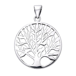 Tree of Life Sterling Silver Pendant TPD3678 peterstone.