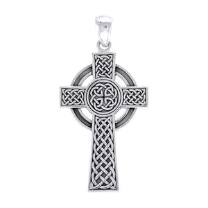 Large Celtic Cross Pendant TPD3693 peterstone.