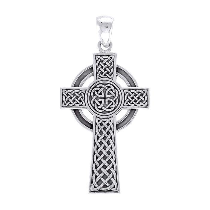 Large Celtic Cross Pendant TPD3693