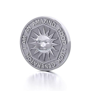 I am an Amazing Good Luck Generator Silver Large Empower Coin TPD3731 peterstone.