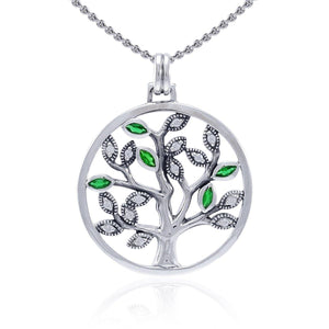 You are more than worthy ~ Sterling Silver Jewelry Tree of Life Jewelry Pendant TPD3875