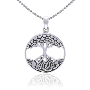 Modern Tree of Life Pendant TPD3965