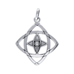 TPD3982 Be Focused Silver Pendant TPD3892