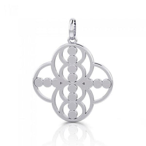 Energy Sterling Silver Hollow Pendant TPD3983