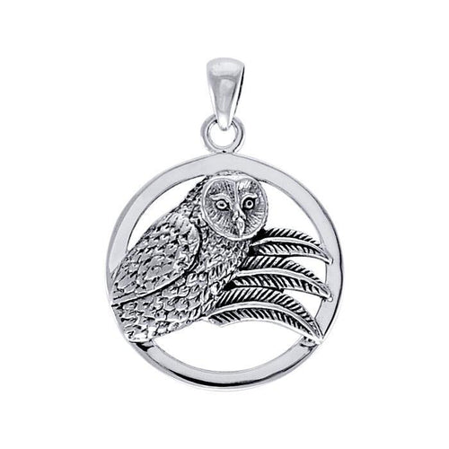 Ted Andrews Owl Pendant TPD3991 peterstone.