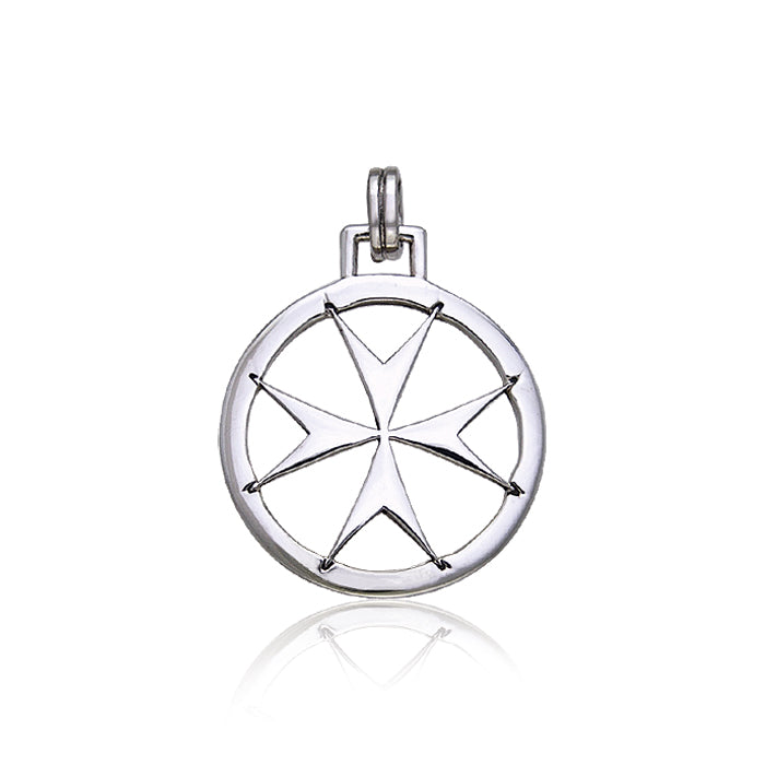 Maltese Cross Sterling Silver TPD405