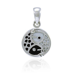 Ying Yang Fish Pendant TPD4306 peterstone.