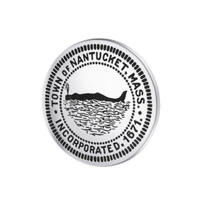 Town of Nantucket, MA Silver Coin TPD4433 peterstone.