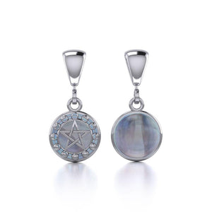 Silver Moon Phases The Star Flip Pendant TPD477 peterstone.