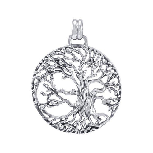 Tree of Life Sterling Silver Pendant TPD4915 peterstone.