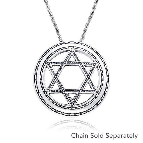 Star of David Pendant TPD492 peterstone.