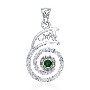 The Reiki Dai Ko Myo Sterling Silver Pendant with Gemstone TPD4924