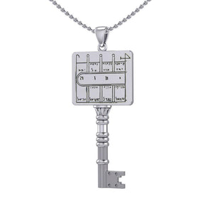 King Solomon Seals Path Clearing KeySilver Pendant TPD5377 peterstone.