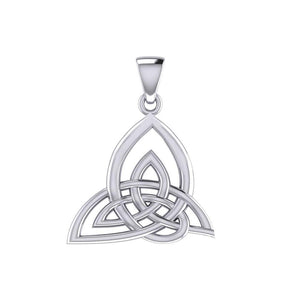 Celtic Knotwork Silver Pendant TPD5478 peterstone.