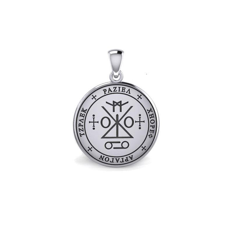 Sigil of the Archangel Raziel Silver Pendant (Small) TPD5485 peterstone.