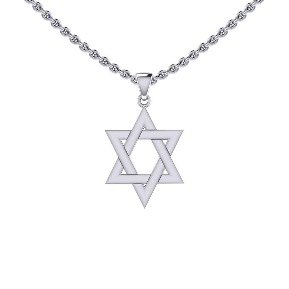 Star of David Silver Pendant TPD5503