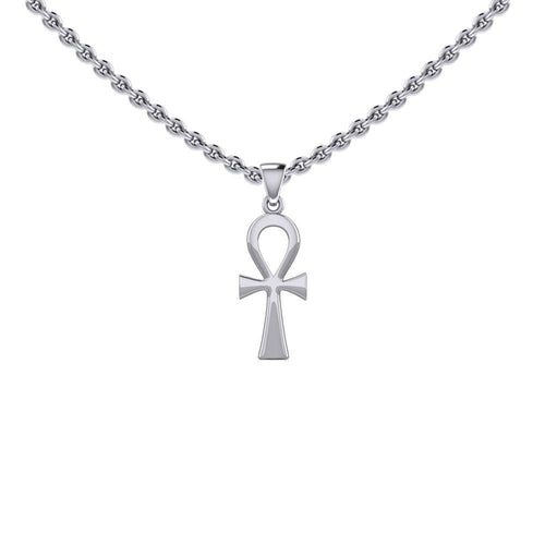 Egyptian Ankh Silver Pendant TPD5504 peterstone.