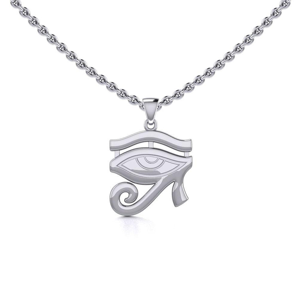 Beyond the symbolism of the Eye of Horus Silver Pendant TPD5505 peterstone.
