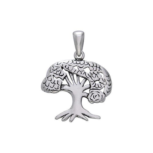 Tree of Life Silver Pendant TPD740 peterstone.
