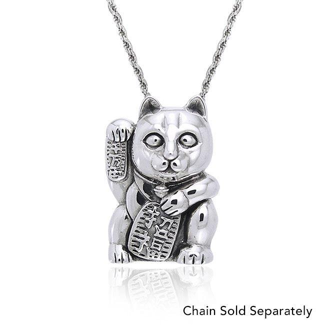 Lucky Cat Pendant TPD761 peterstone.