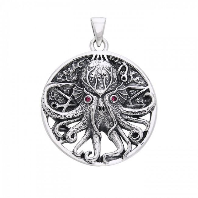 Great Cthulhu Pendant TPD765 peterstone.