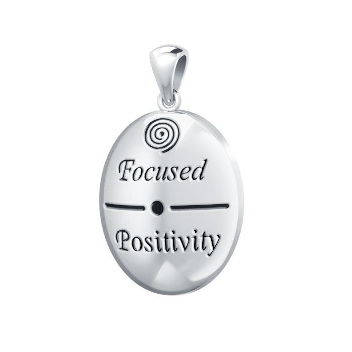 Empowering Words Focused Positivity Pendant TPD769 peterstone.