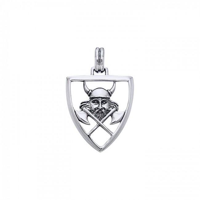 Viking Warrior Shield Pendant TPD865 peterstone.