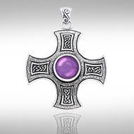 Celtic Cross of Harmony Pendant TPD960 peterstone.