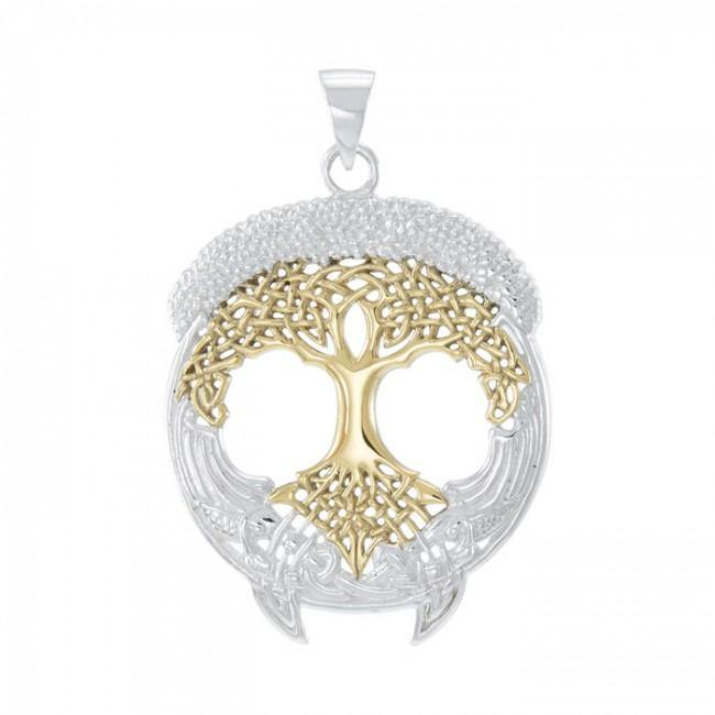 Celtic Knot Tree of Life Pendant TPV3472