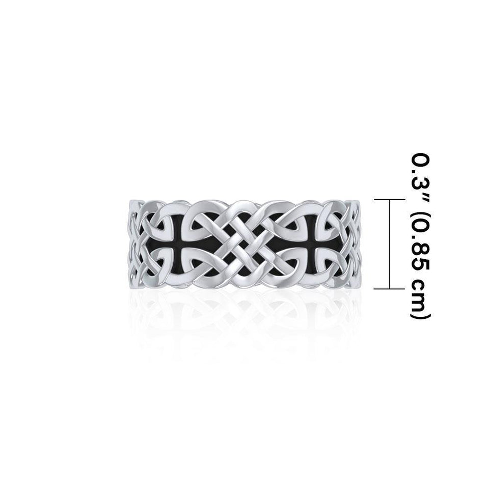 Celtic Knotwork Ring TR042