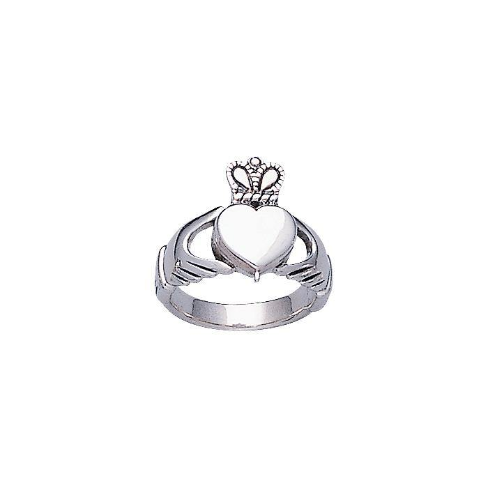 Celtic Claddagh Poison Ring TR1166