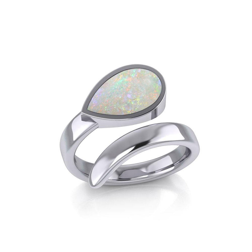Rainbow Pride LGBTQ Sterling Silver Ring TR1367