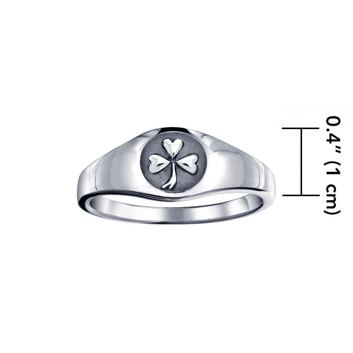 Celtic Shamrock Ring TR1443