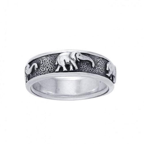 Elephant Spinner Ring TR1692 peterstone.
