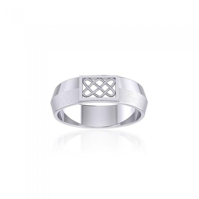 Celtic Knot Geometric Ring TR1804