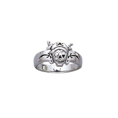 Pirate Skull Ring TR3669 peterstone.