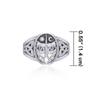 Tree of life Silver Ring TR3688