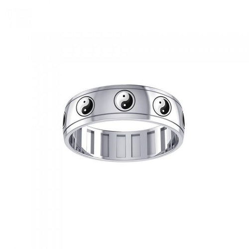 Yin Yang Spinner Ring TR3755 peterstone.