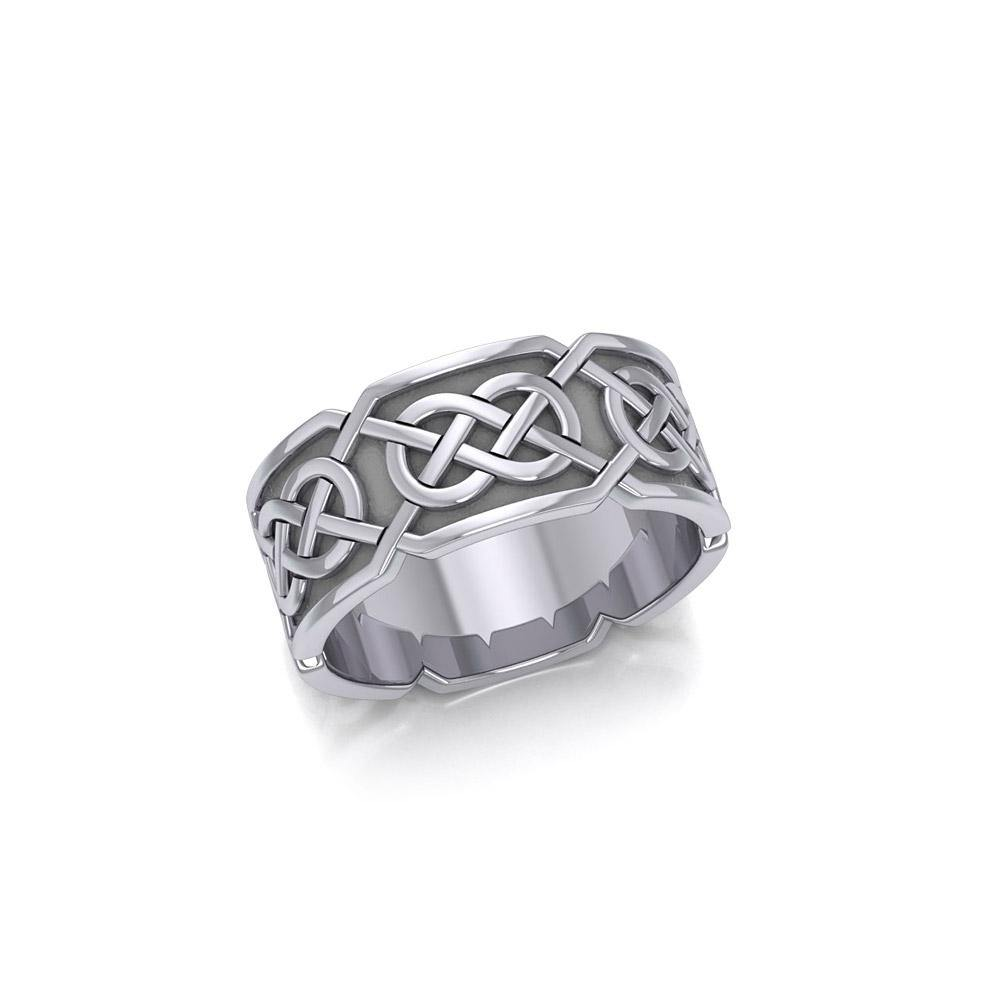 Celtic Knotwork Ring TR623 peterstone.