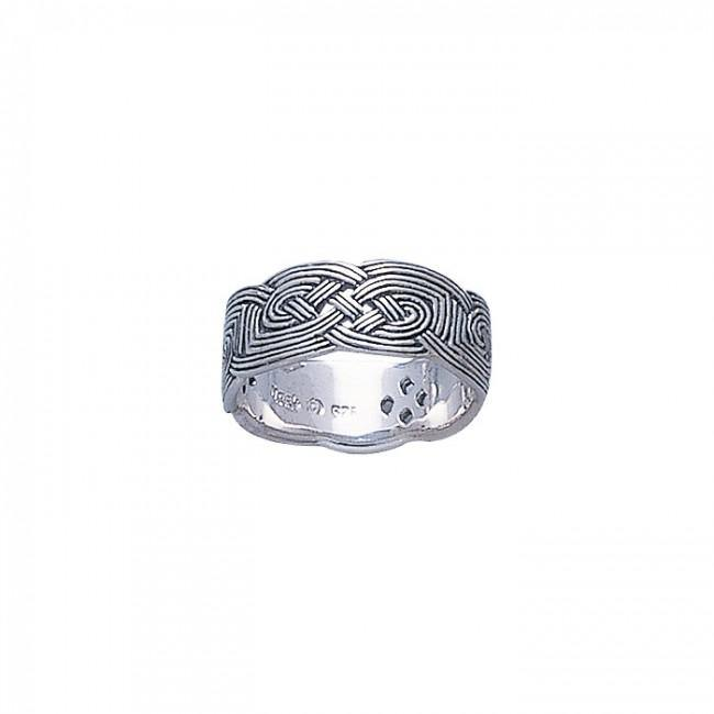 Celtic Knotwork Ring TR733 peterstone.