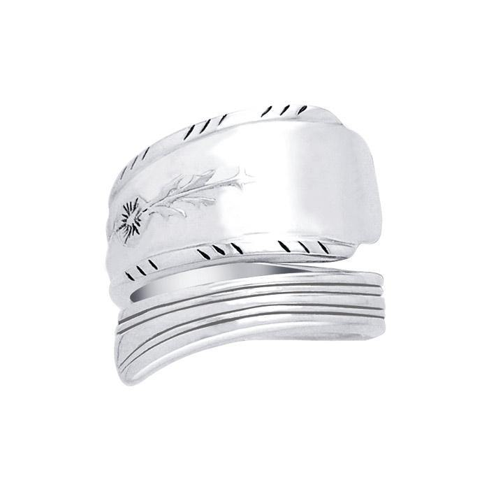 Silver Spoon Ring TR823