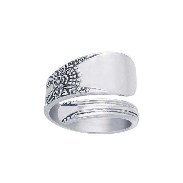 Silver Spoon Ring TR825