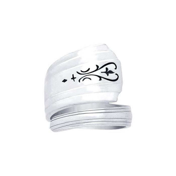 Silver Spoon Ring TR833