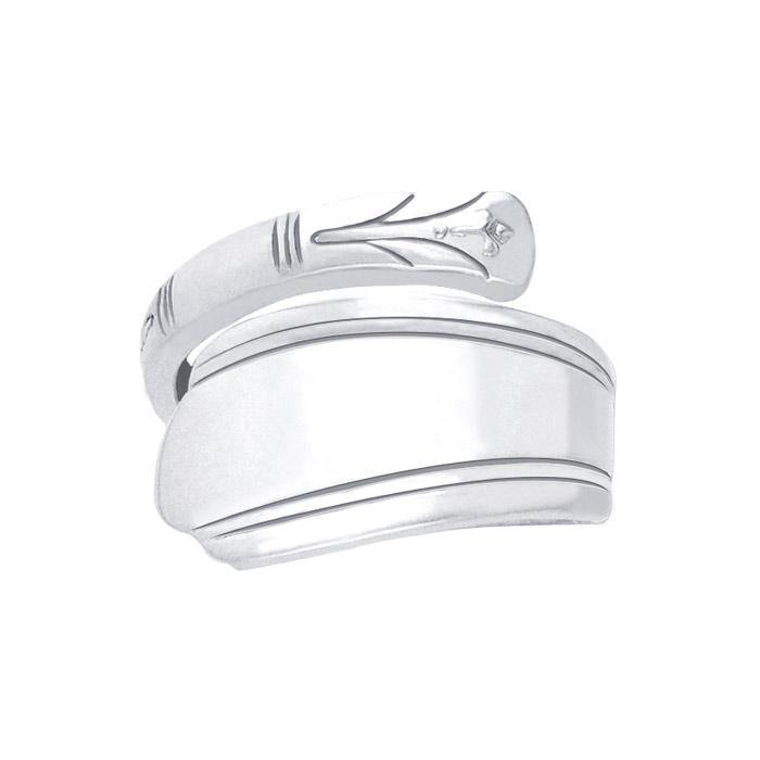 Silver Spoon Ring TR839