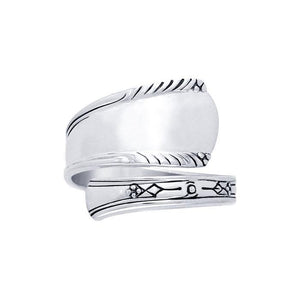 Silver Spoon Ring TR841