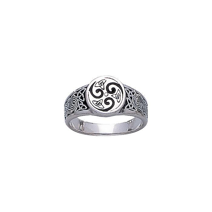 Celtic Knotwork Ring TR925 peterstone.