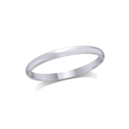 Silver Thin Band Ring TRI1162 peterstone.