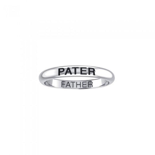 PATER FATHER Sterling Silver Ring TRI1176 peterstone.